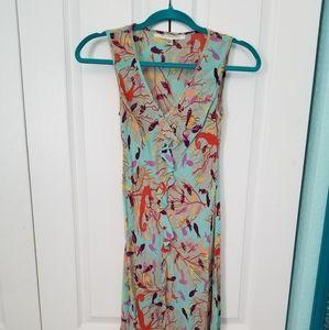 Diane vonFurstenberg midi dress